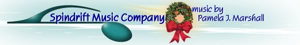 Spindrift Music Company with holiday wreath