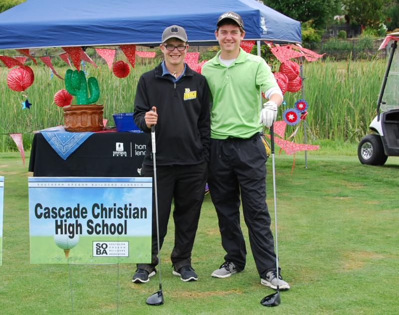 Cascade Christian High School golf