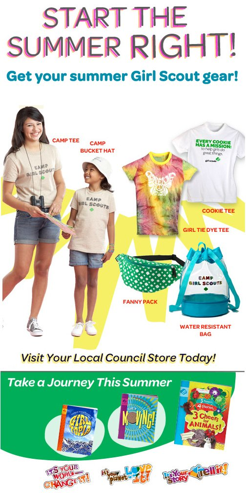 Girl Scout Shop News