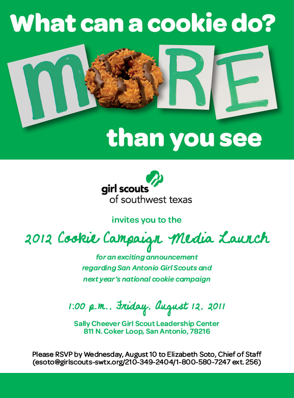 2012 Cookie Campaign Media Launch