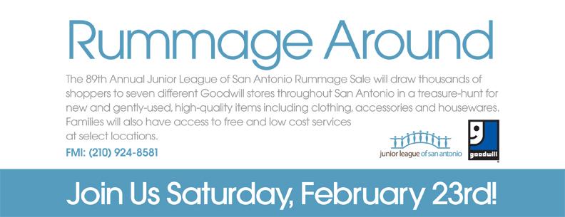 Rummage Around sale