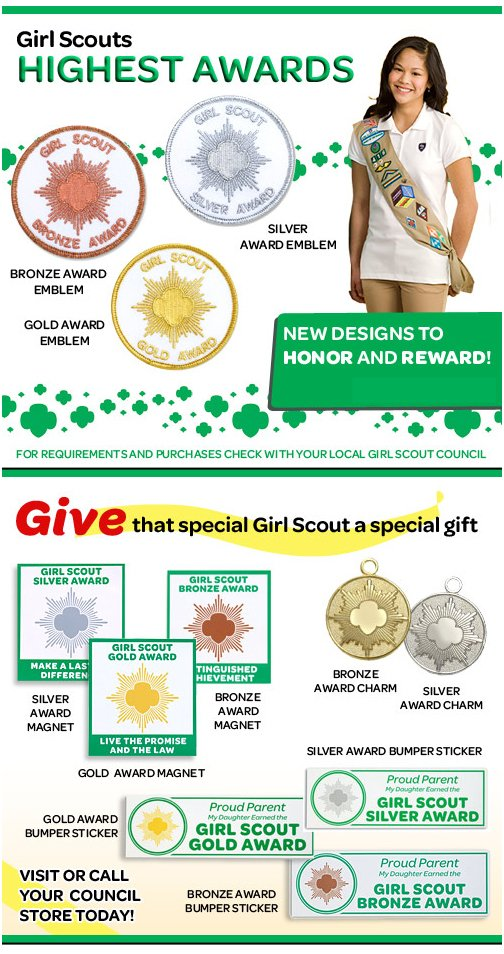 Girl Scouts Highest Awards