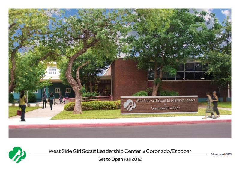 Rendering of West Side Girl Scout Leadership Center