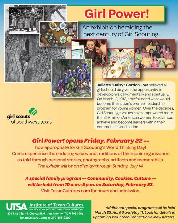 Girl Power! opens Feb. 22