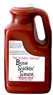 Bone Suckin' Sauce Hot Half Gallon