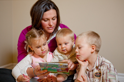Dr Sonya Doherty and her Children
