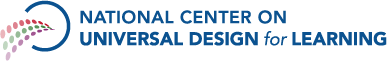 National Center on Universal Design for Learning logo