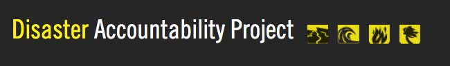 Disaster Accountability Project logo