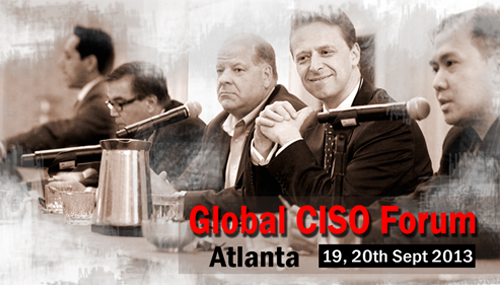 Global CISO Forum 2013