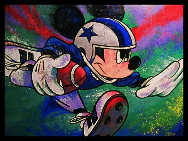 Mickey Football