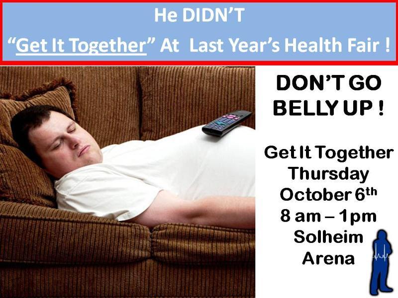 Health Fair Lazy 2