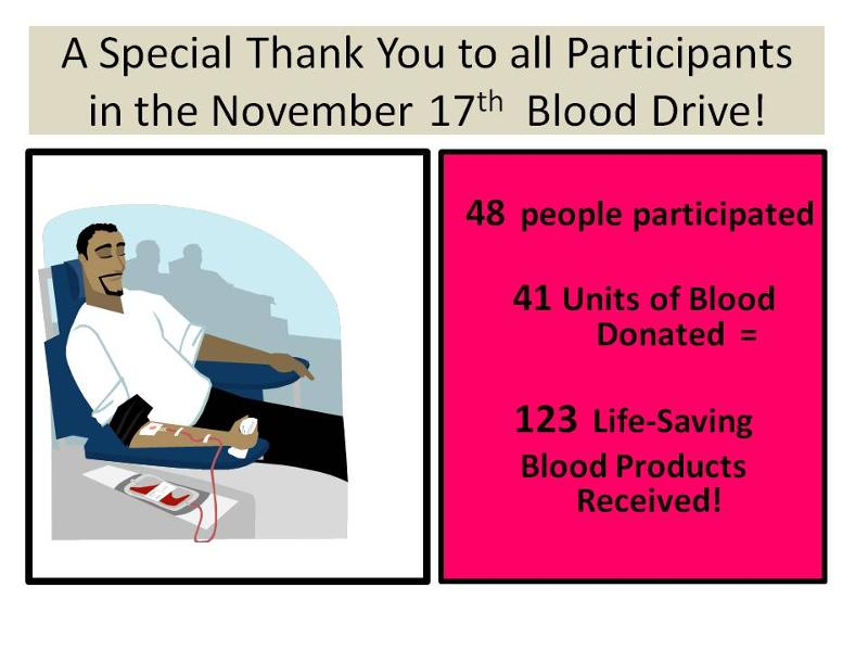 Blood Donor Thank you