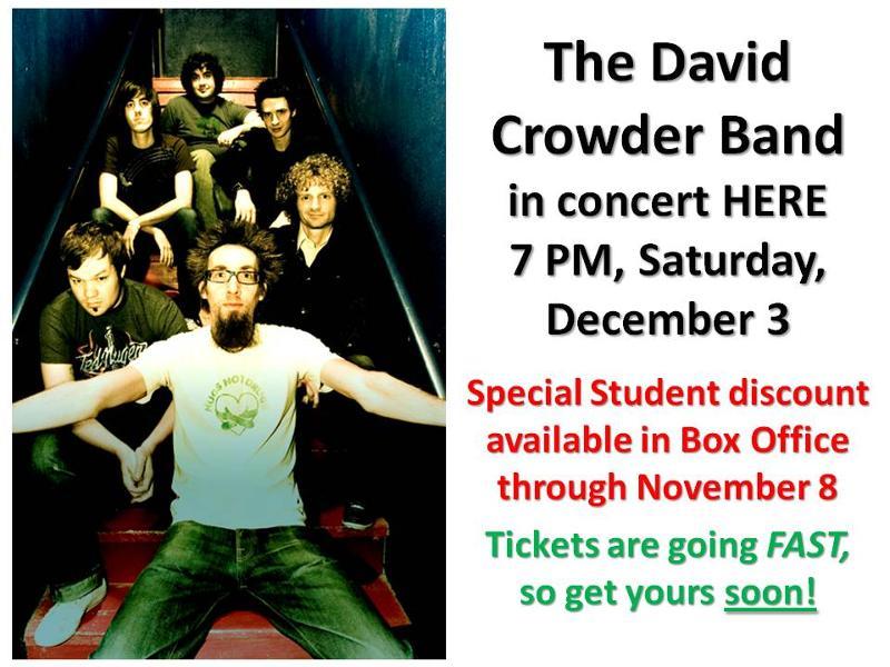 David Crowder new