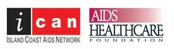 ICAN AHF logos
