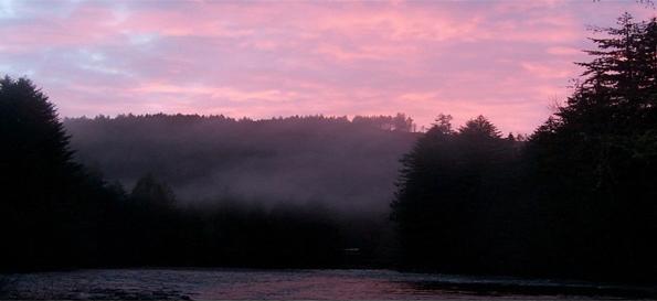 Molalla River sunset