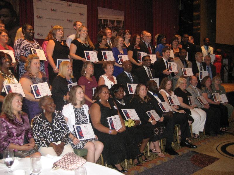 Nationwide 2012 CCAP Recipients
