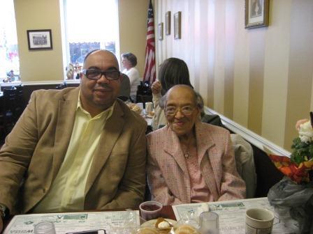 Maxine Wingo and Rev. Townsend