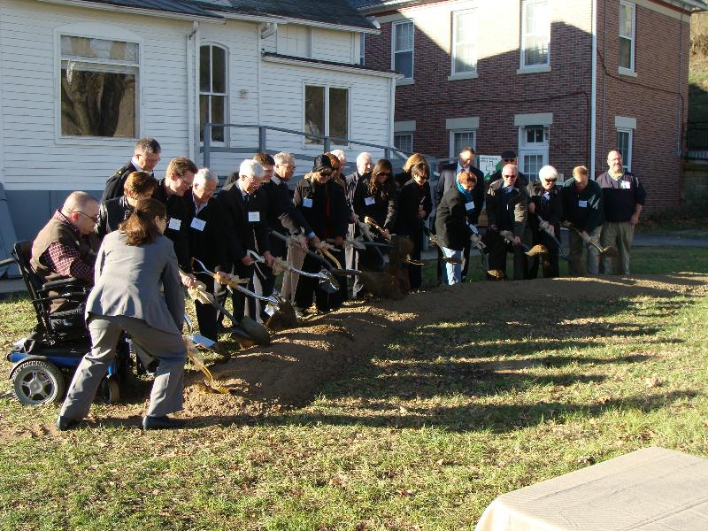 Rutherford House Ground Breaking