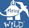 FW logo white with blue background