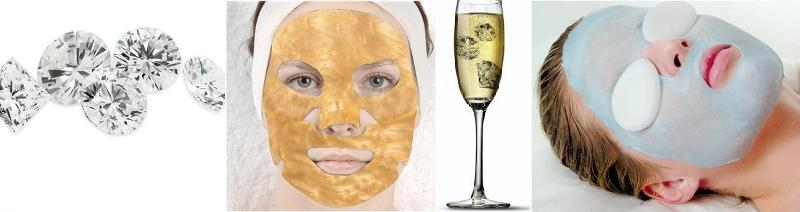 GoldDiamondCollagenMasks