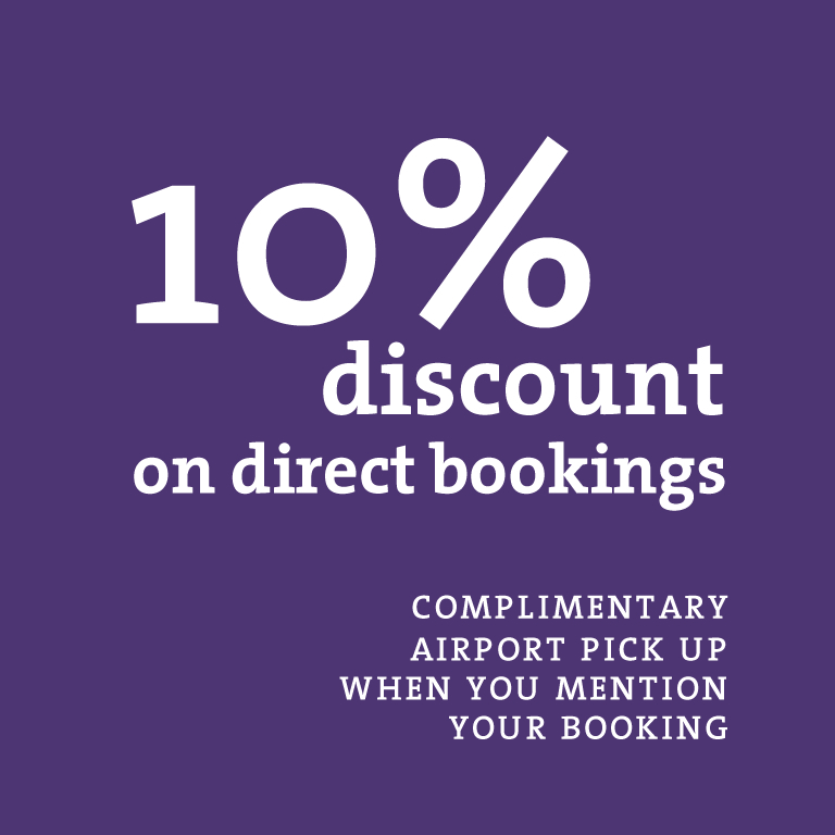 10_ discount for direct bookings