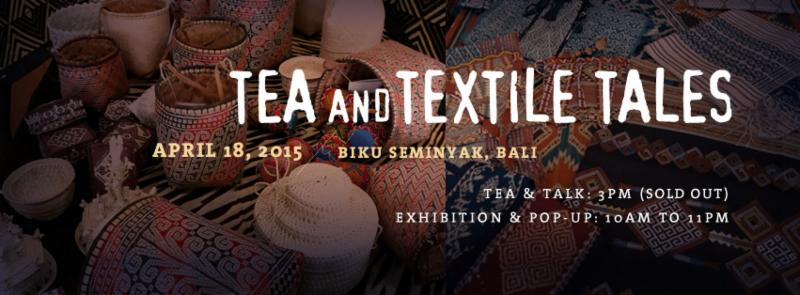 Tea and Textile Tales at Biku