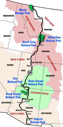 Holiday Shopping Ideas From US Route Appreciation Society - Us route 89 map