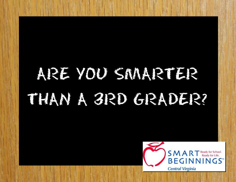 are you smarter than a 3rd grader
