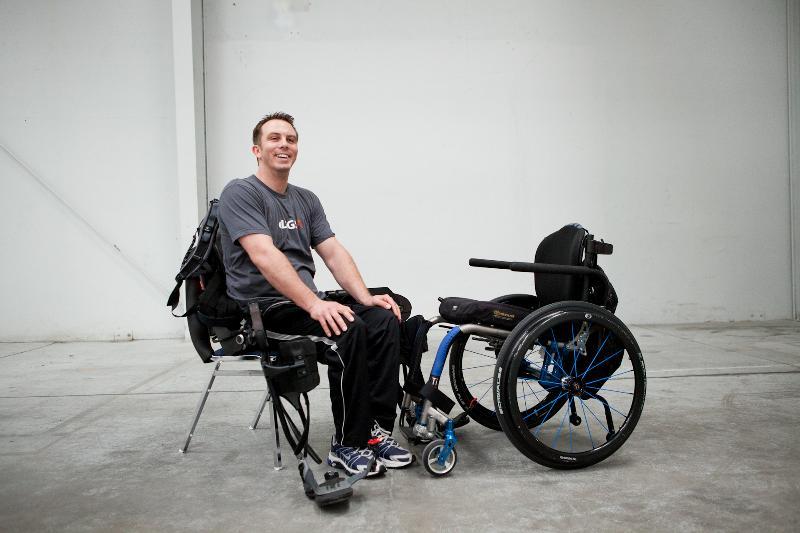 Jason Gieser wheelchair transfer