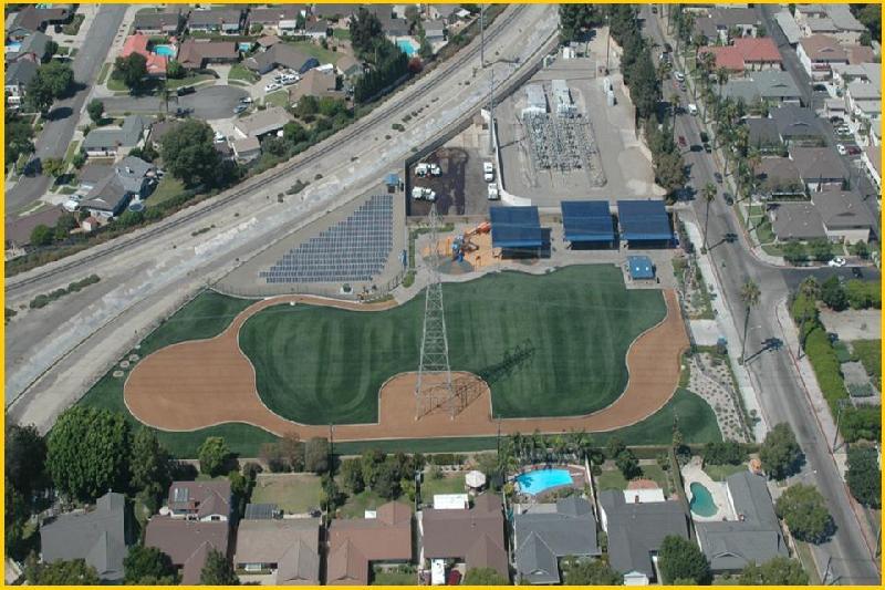 E Field for Water Pipeline