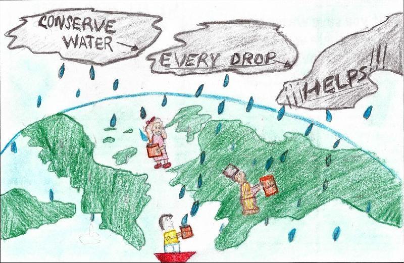Water poster winner