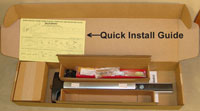 Quick Install Guide in Box