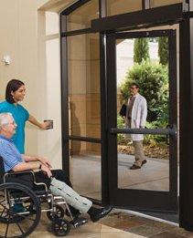 HealthCare Adv on Narrow Stile Door