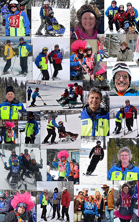 National Disabled Veterans Winter Sports Clinic 2014 Collage