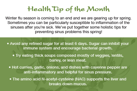 Health Tip 3/13