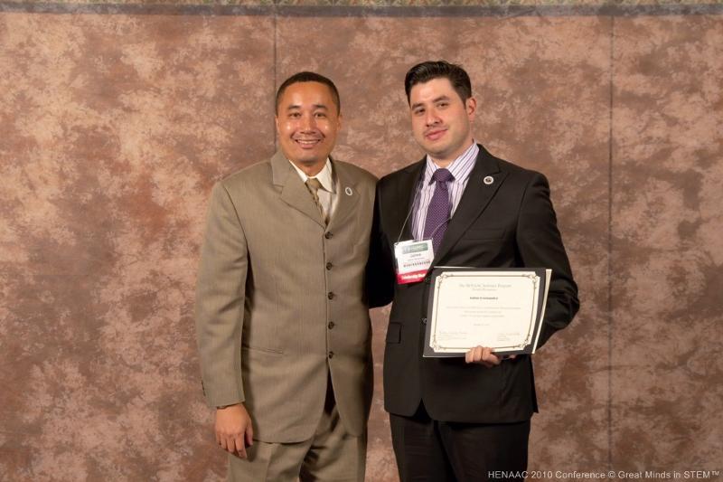 Jaime Hernandez HENAAC award