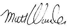 Wunder signature
