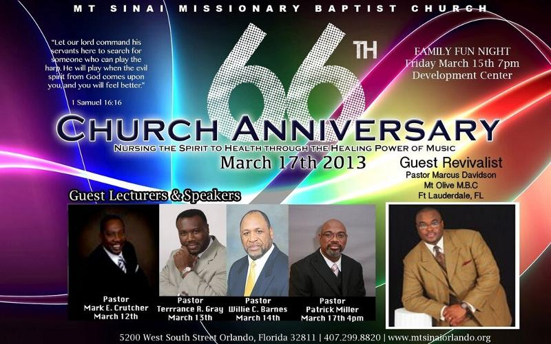 66th Church Anniversary