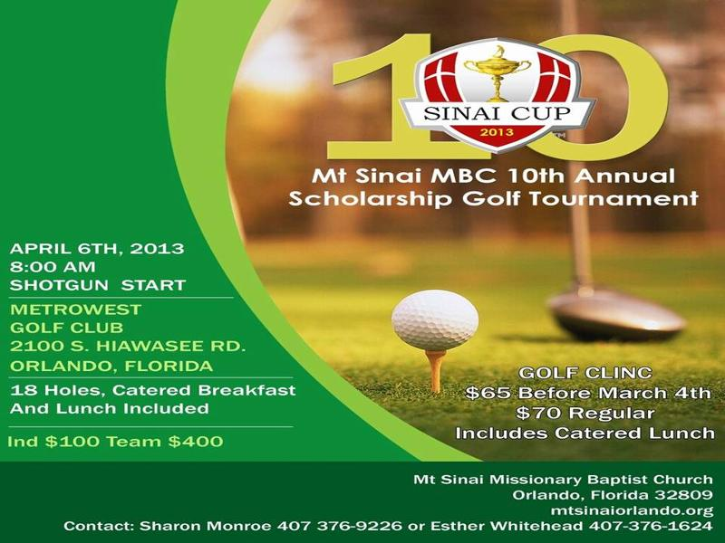 Golf Tournament
