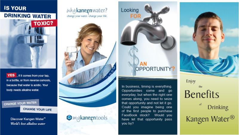 benefits of kangen water brochure new sample pack