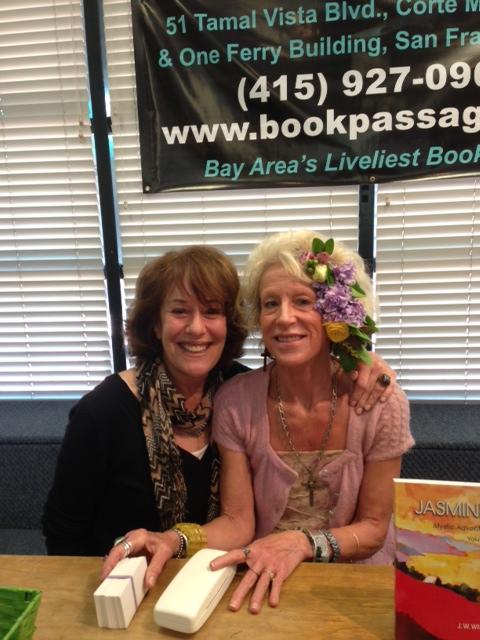 JW + PATTIE AT BOOK PASSAGE