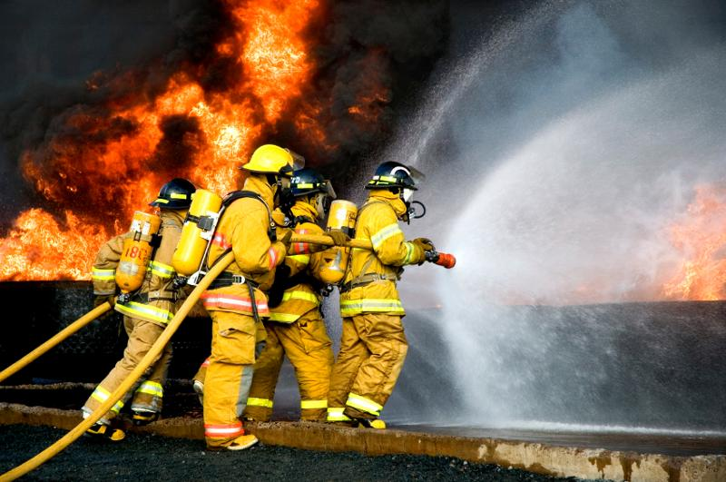 Photo-FF with Water Spray