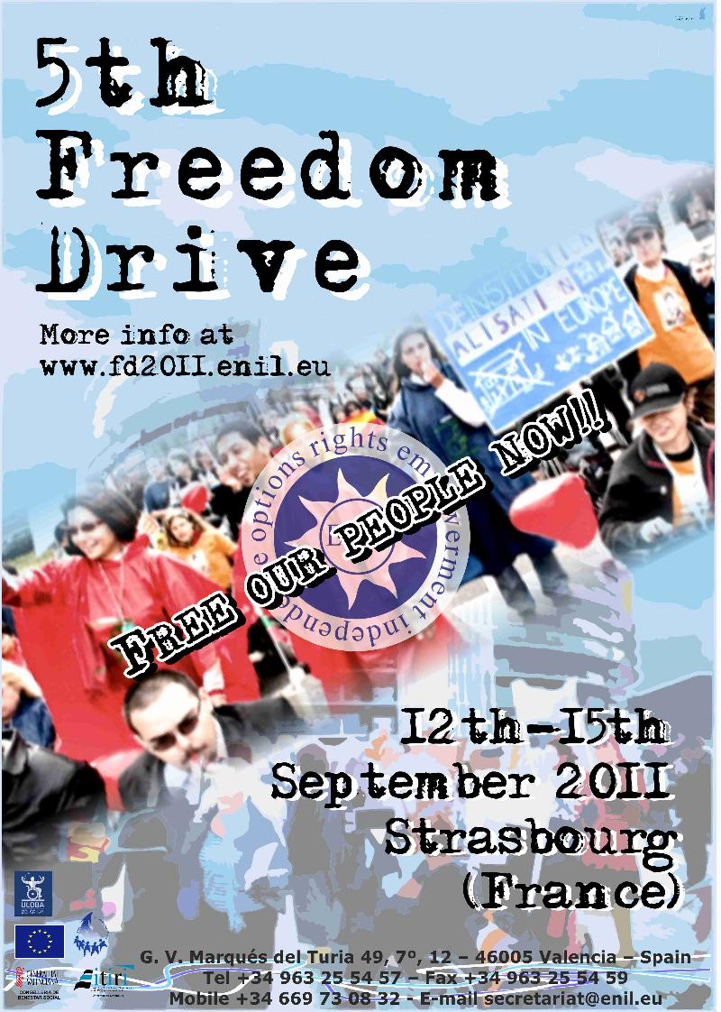 Freedom Drive 2011 Poster