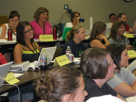 Teachers at WTP Summer Institute