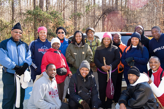Gold Branch Hike Group