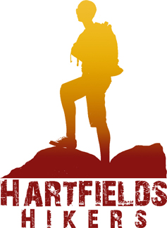 Hartfield's Hikers New Logo