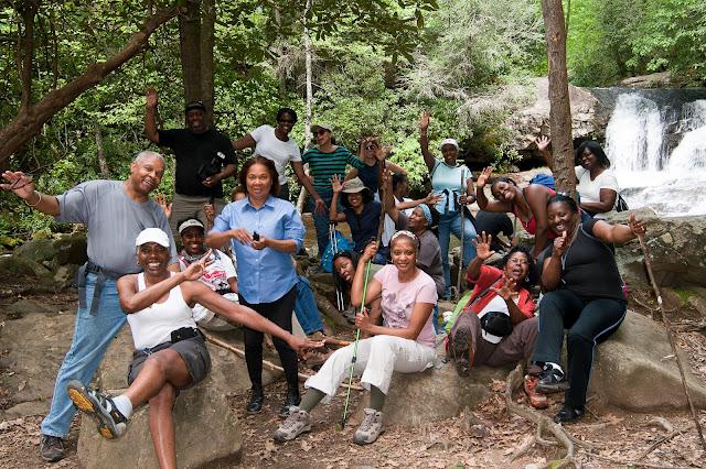 Hemlock Creek Hike Group
