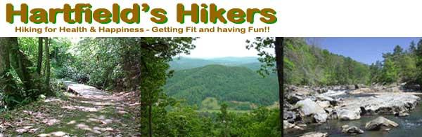 Hartfield's Hikers Header