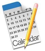 Calendar w-Pencil