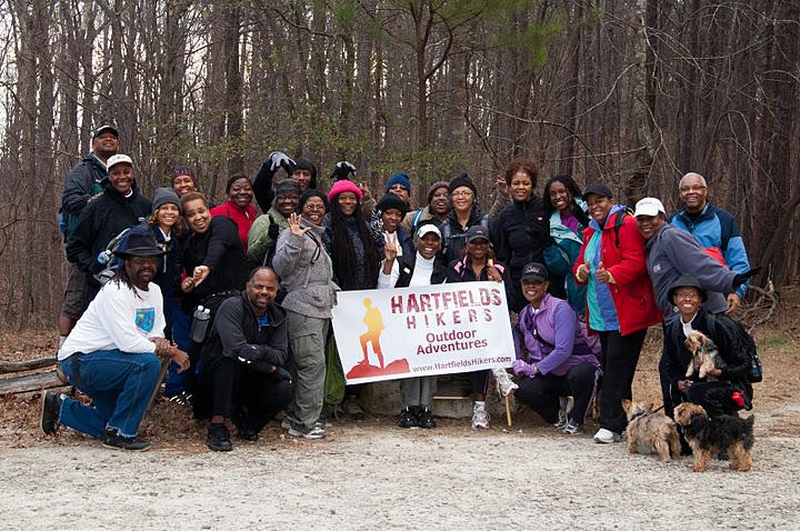 Chicopee Woods Jan 2012 Hike Group